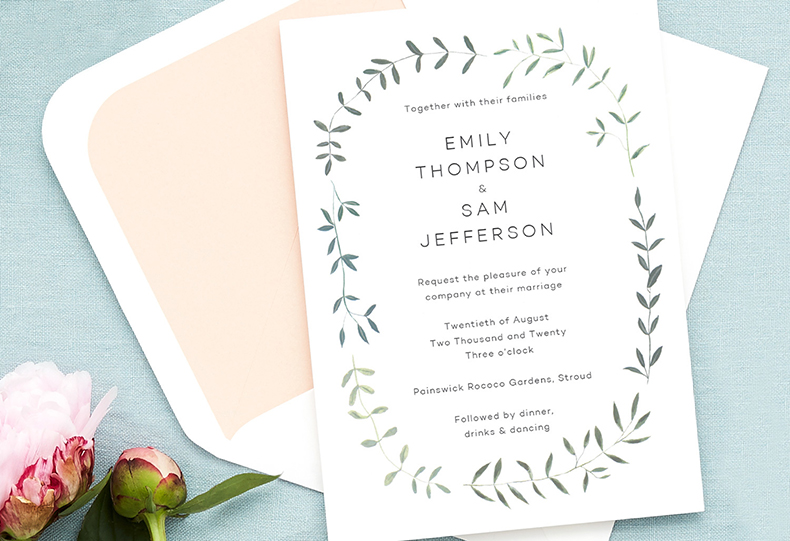 Wedding Card Etiquette