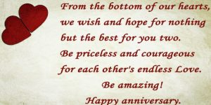111 Best Wedding Anniversary Wishes for Friends