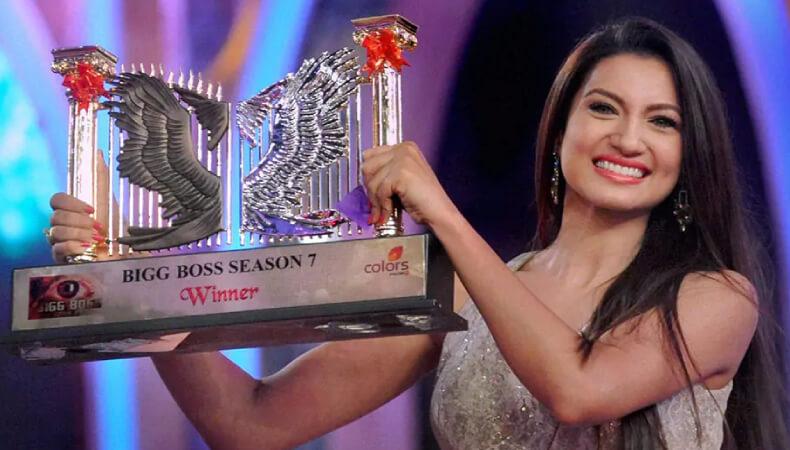 gauhar khan Big Boss Winner 7