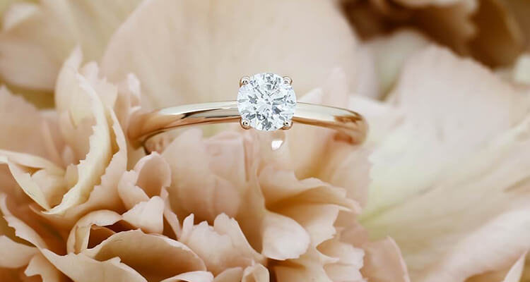 Classy Solitaire Engagement Ring