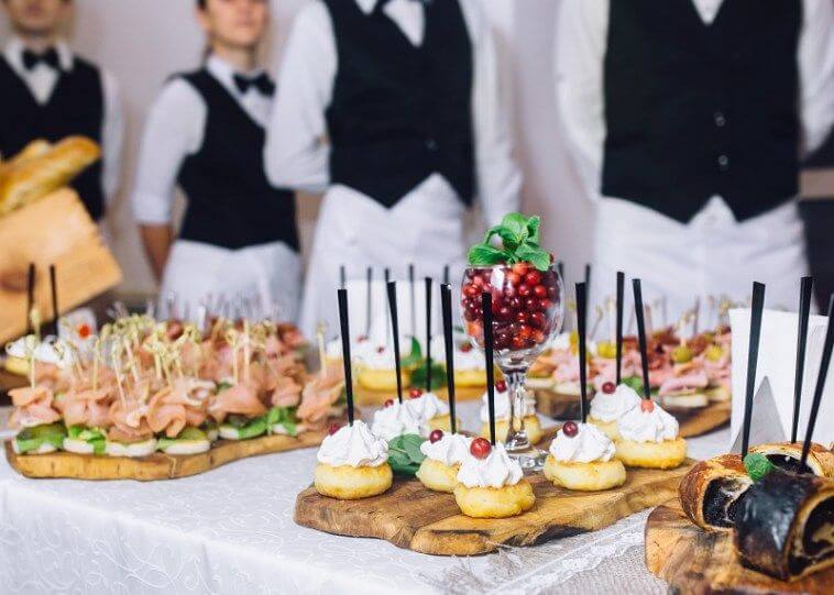 Number of Staff in wedding Catering Service
