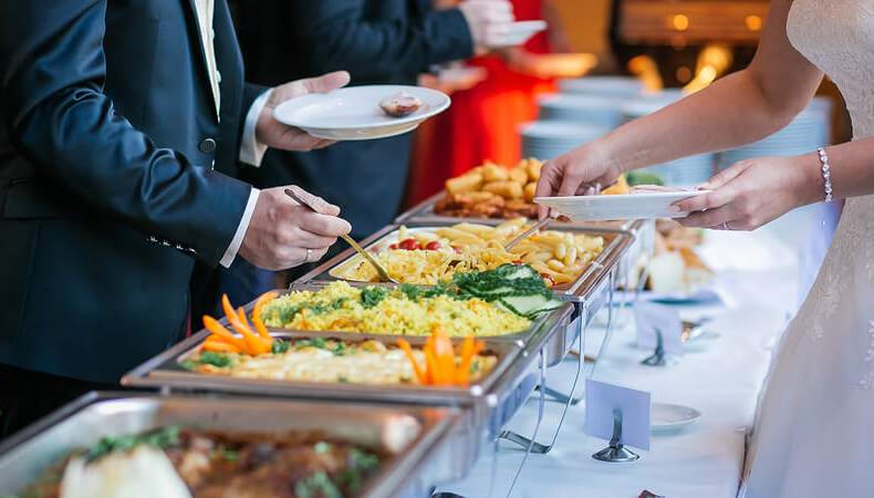Wedding Catering Cost in India