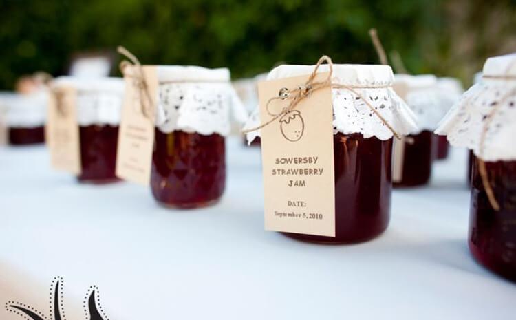 Fruit Jam in Mason Jar