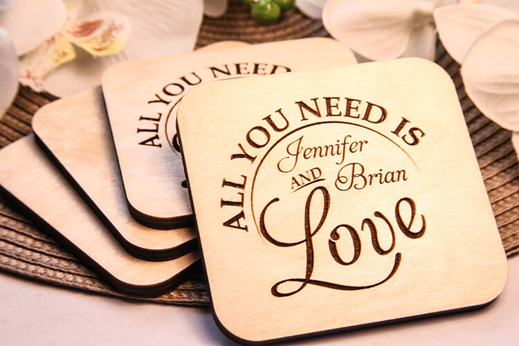 Personalized Coaster Stands