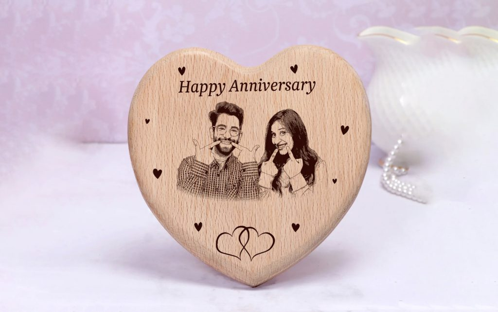 Ruby Wedding Anniversary Picture Frames