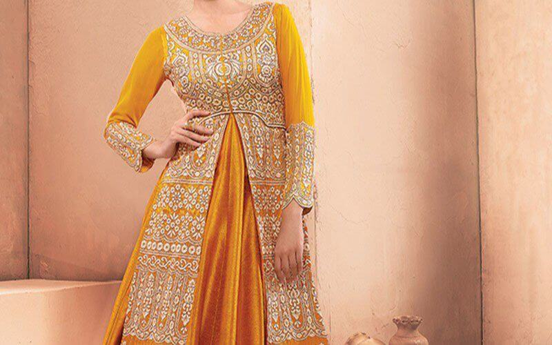 Anarkali attire for the Sophisticated Look