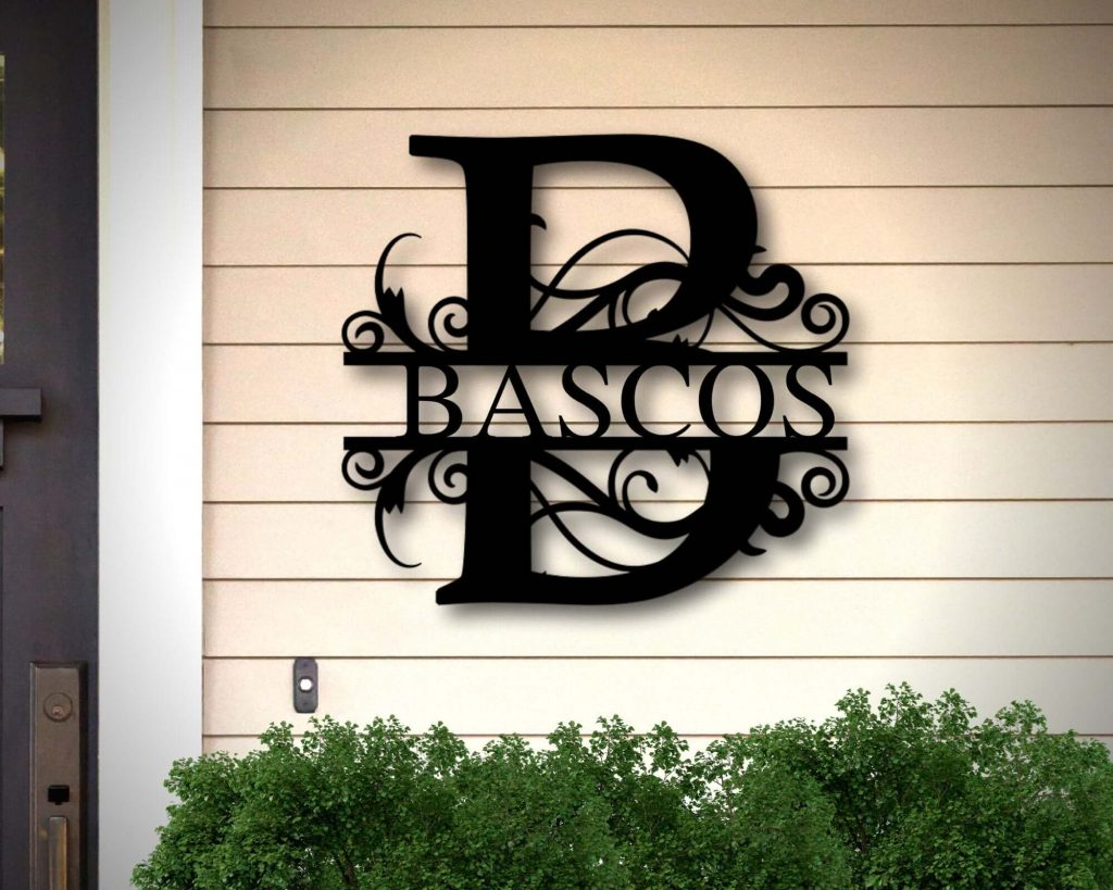 Personalized Metal Wall Art