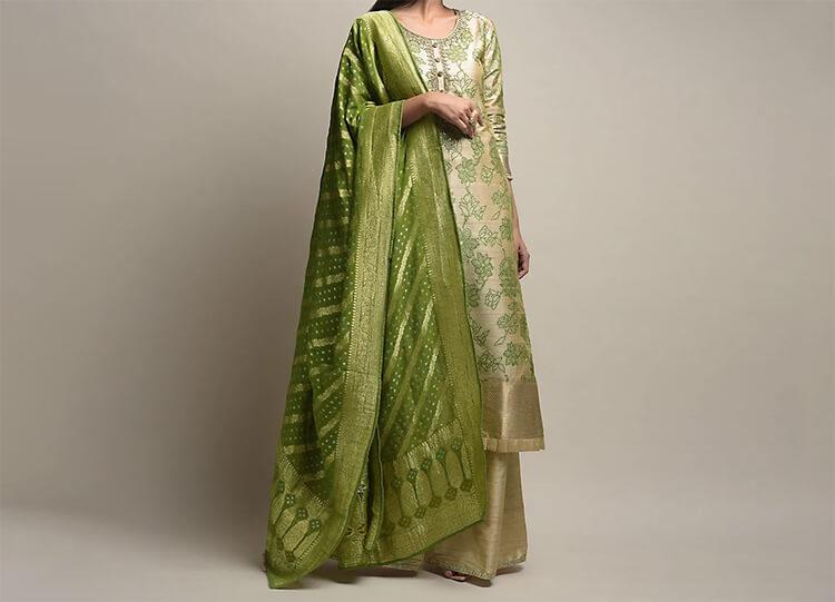Jade Green Anarkali Suit for that Explicit Look