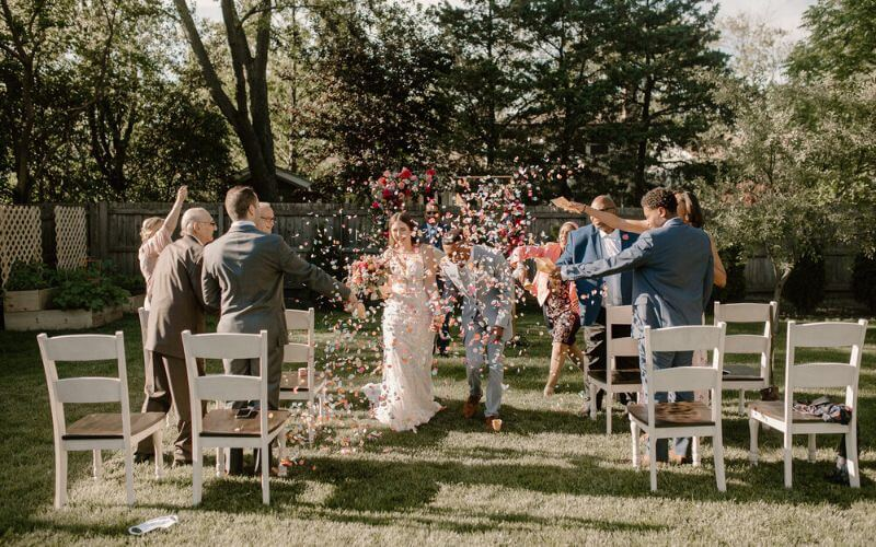 Backyard Weddings trends after post pandemic