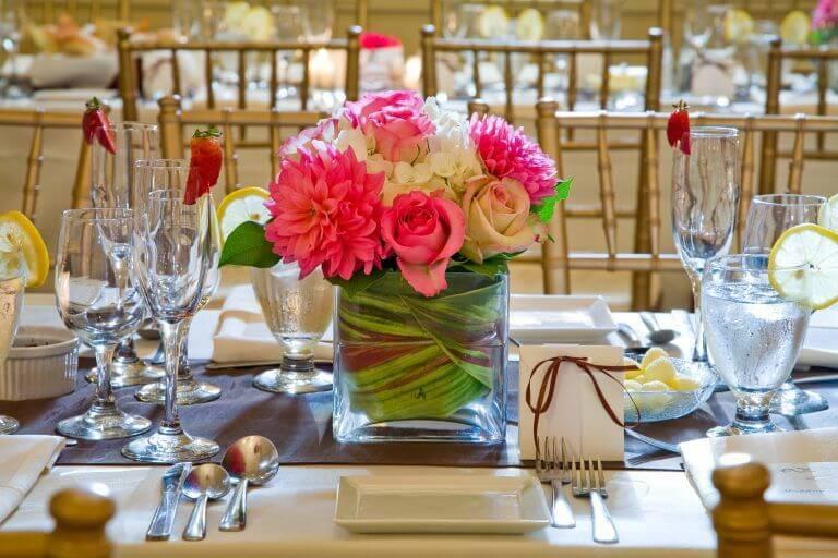 Wedding in a Restaurant