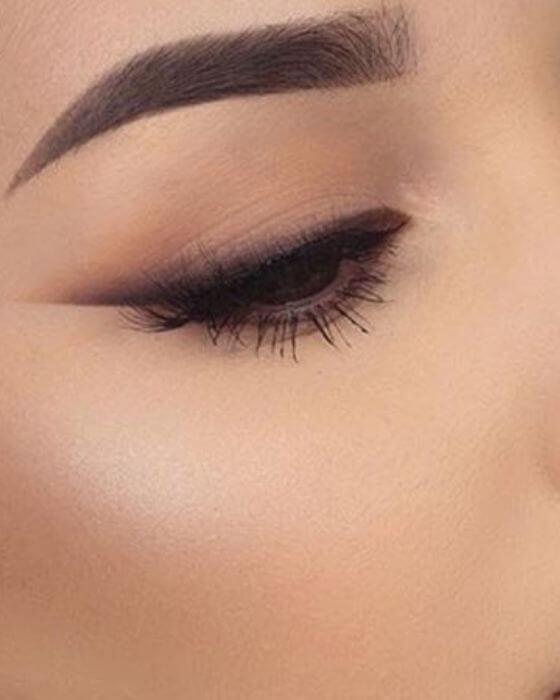 Deep Brown Eye Makeup