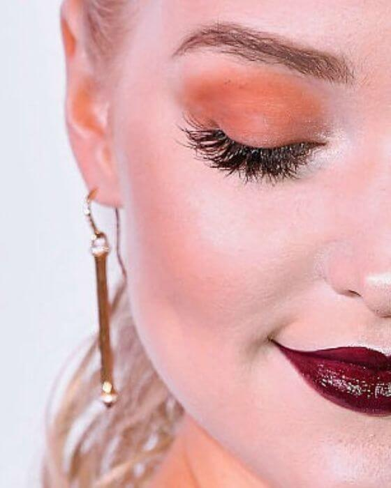More Dramatic Looks with False Lashes