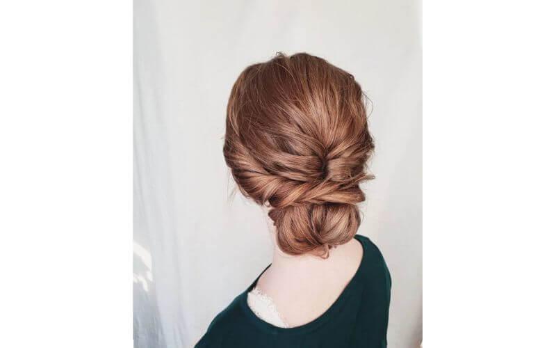 Bohemian Style Hairdo Hairstyles ideas for wedding