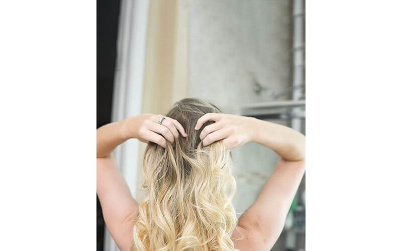 Bombshell Curls Hairstyles for Wedding