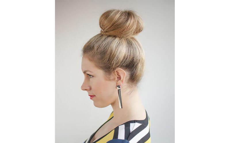 High Bun Hairstyles Ideas