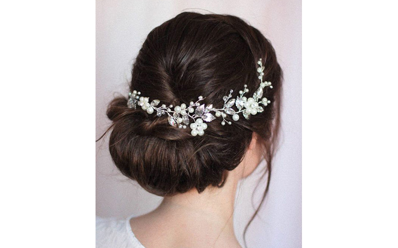 Hairpiece Bridal Hairstyles ideas