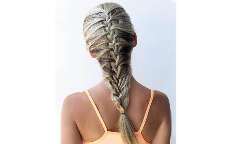 Mermaid Braids Hairstyles ideas for weddings