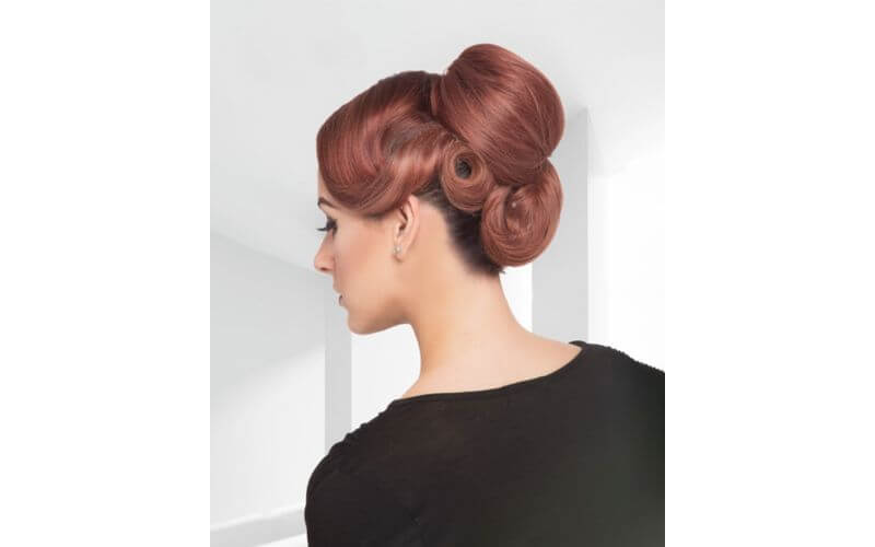 Pin it up Hairstyles ideas for wedding