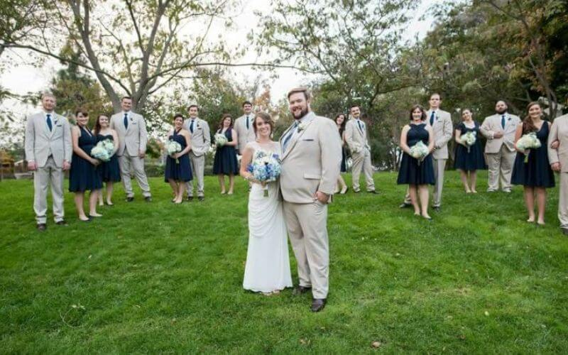 Social Distancing in Pandemic Wedding