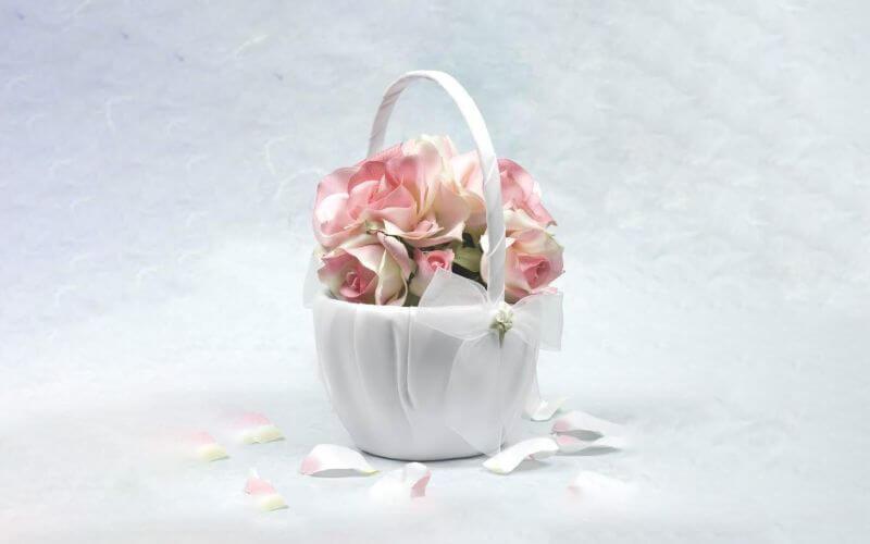 graceful Basket Bouquet