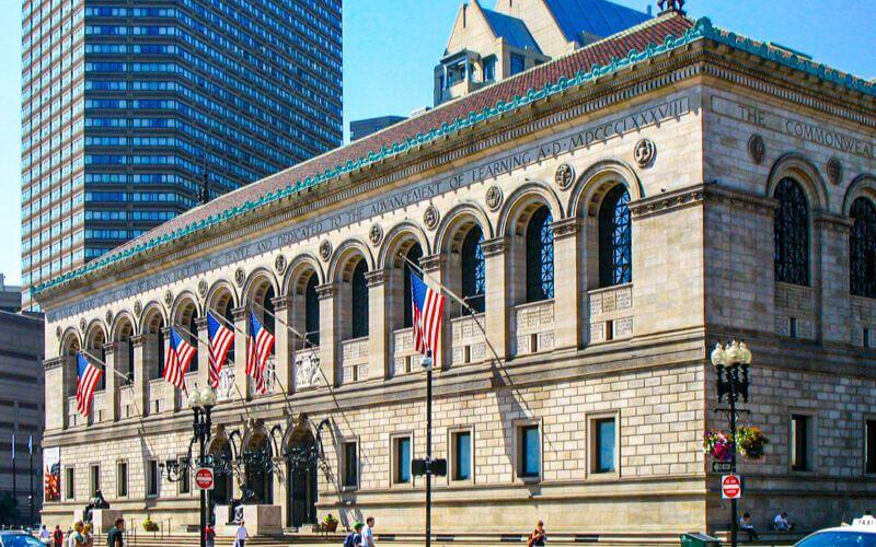 Boston Public Library, Boston Wedding Venue