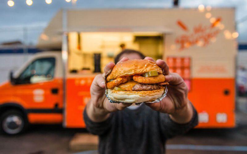 Burger Truck Wedding Snack Ideas