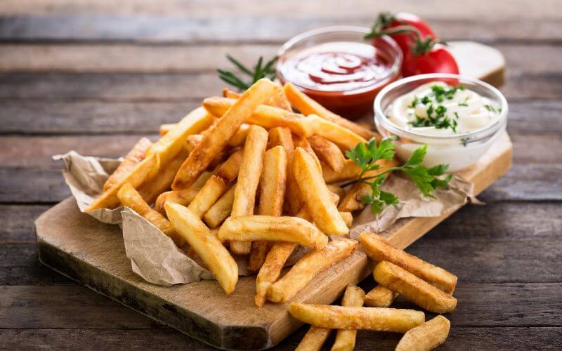 French Fries - Midnight Wedding Snack Ideas