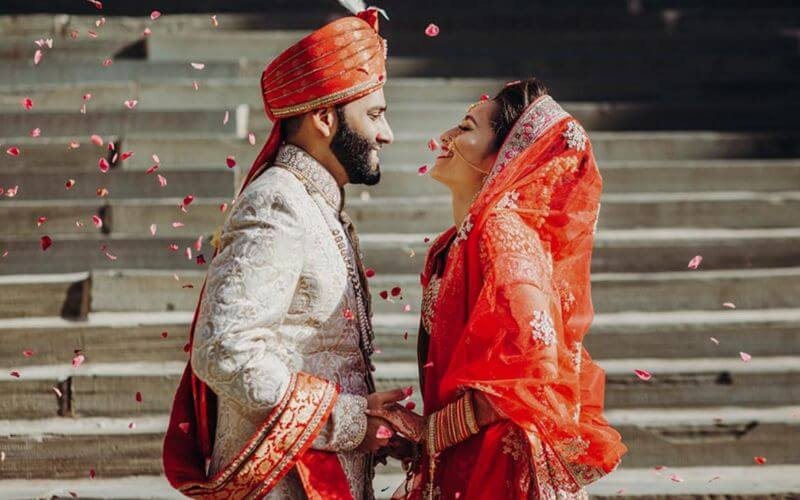 Couple Celebration in Pandemic Proof Wedding