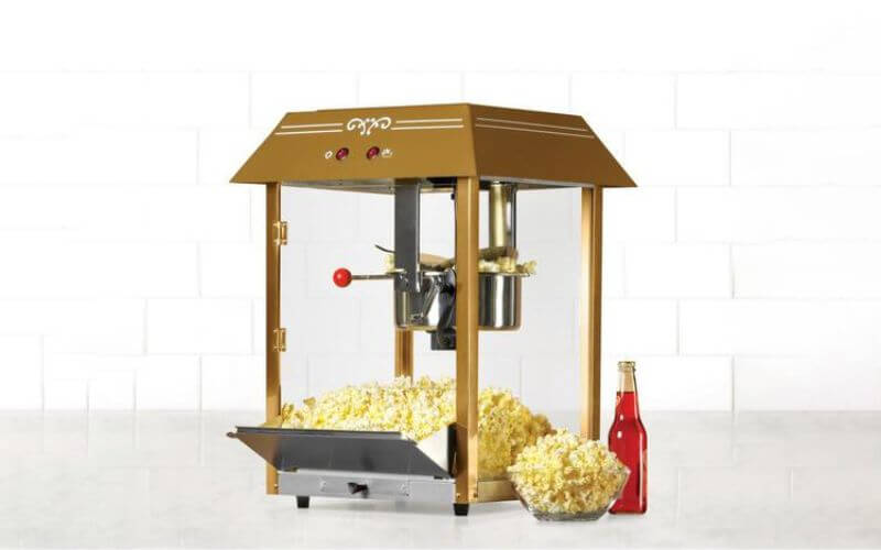 Popcorn Cart Midnight Wedding Snack Ideas