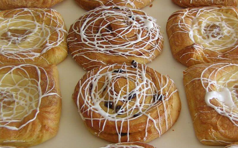 Swiss Pastries - Wedding Snack Ideas