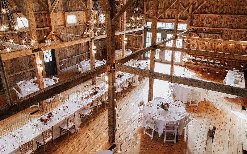 The Barn at Flanagan Farm, Maine Wedding Venue