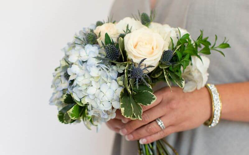 Tussy Mussy Wedding Bouquet