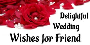 Best Wedding Wishes for Friends