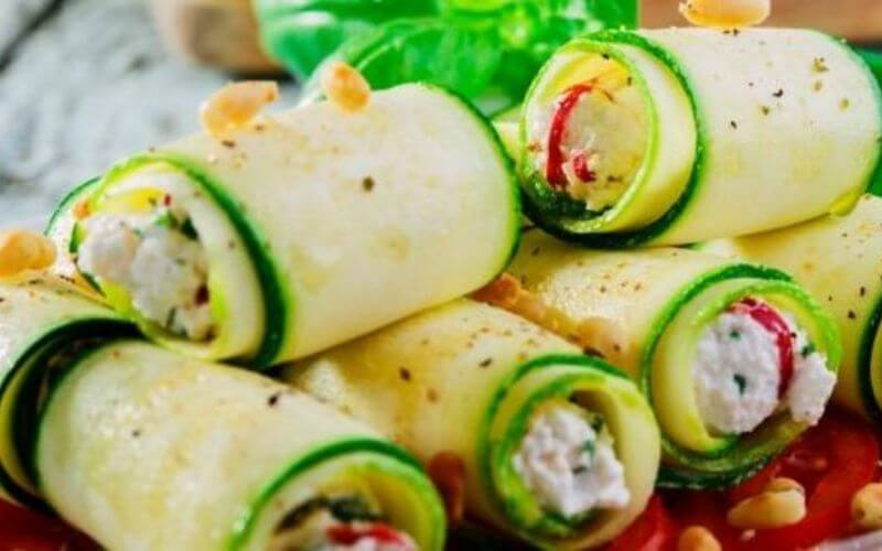 Zucchini Roll-ups - Wedding Snacks