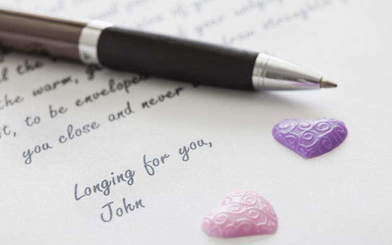 Write a Love Letter to your Bride - Wedding Surprise Ideas For The Bride