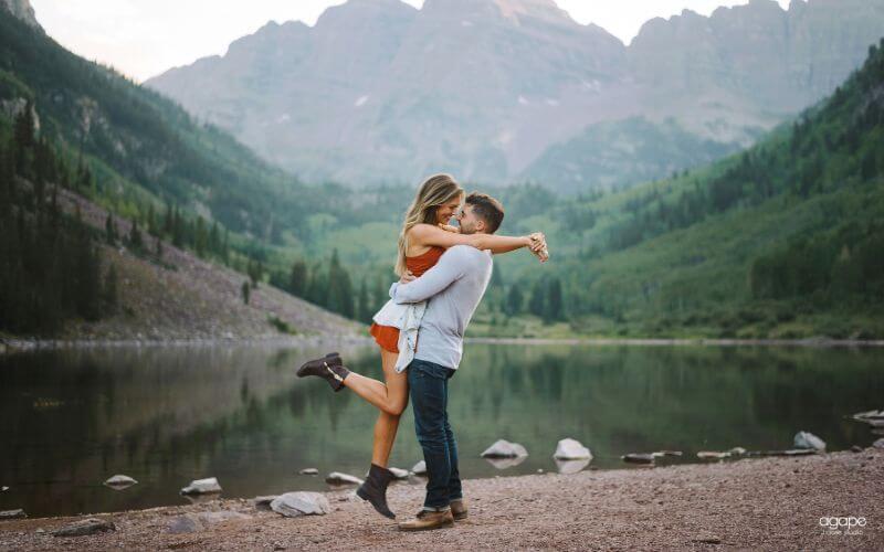 Aspen is an ideal location for a romantic honeymoon