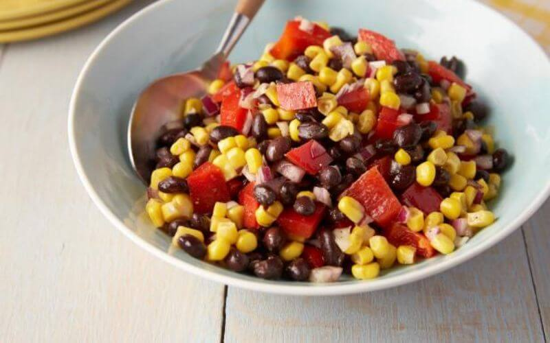Black Bean and Corn Shooters