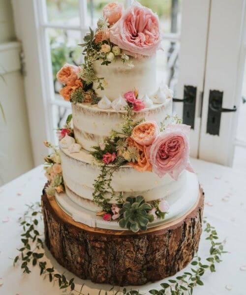 Bohemian-inspired cake