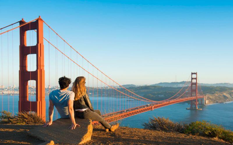 California is the best location for honeymoon