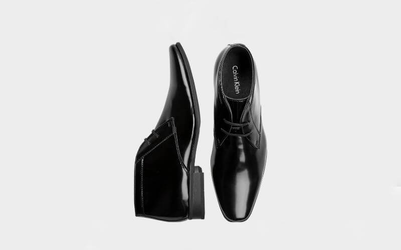 Calvin Klein Brodie tuxedo shoes in Black
