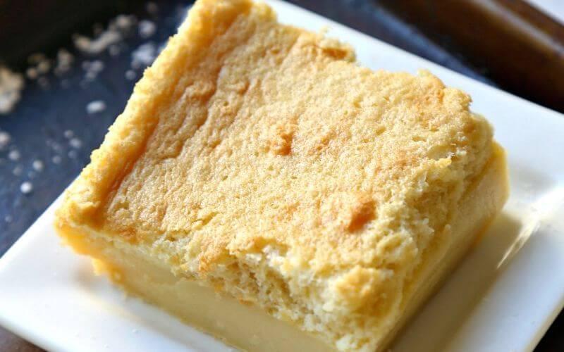 Custard Soufflé Cake - Wedding Dessert Ideas