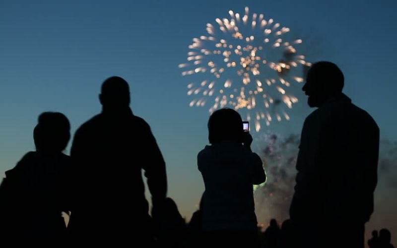 Surprise your Bride with a Fireworks Display
