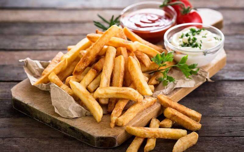French Fries - Wedding Reception Food Menu Ideas