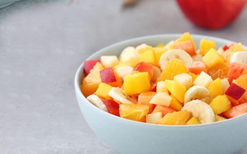 Wedding reception menu Fruit Salad Bar