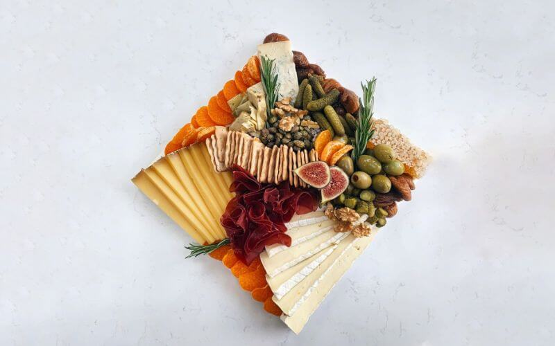 Grazing Table - Wedding Reception Food Menu