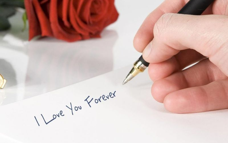 Hand Write a Romantic Note for a Surprise the Bride