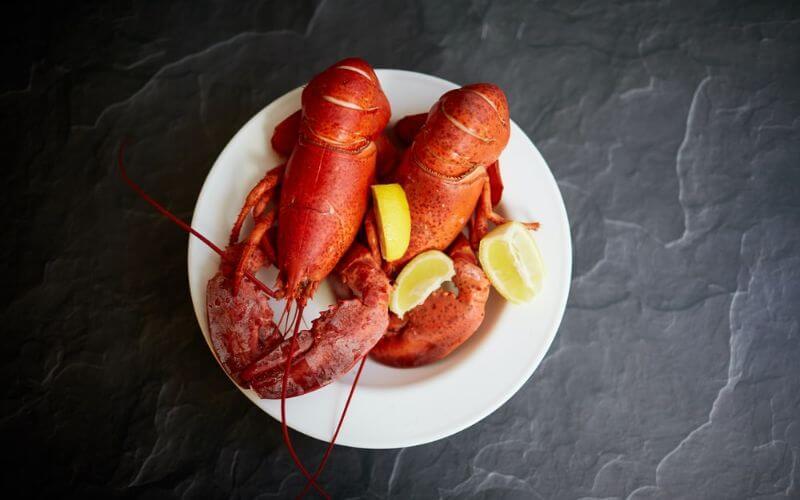 Lobster - wedding reception menu