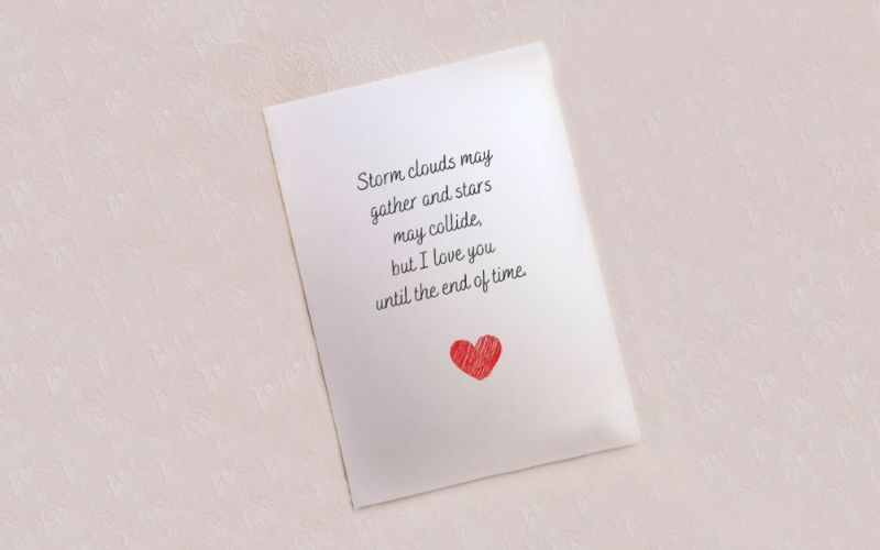Surprise your Bride Throughout the day with Secret Love Notes