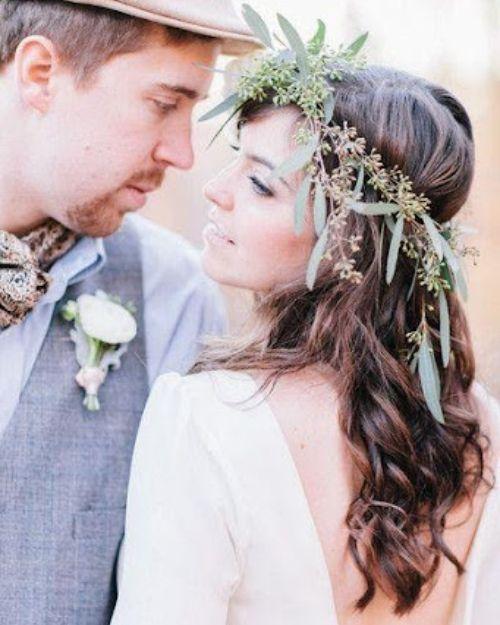 Nature-inspired headpiece - Bohemian Wedding