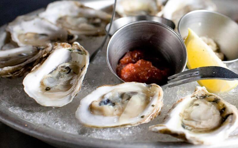 Oyster Bar - Wedding Reception Food Menu